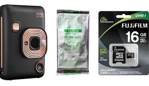 Fujifilm Instax Mini Liplay Hybrid,film,memory Card