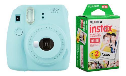Instax Mini 9 + 20 Hojas Para Foto A P-e-d-i-d-o