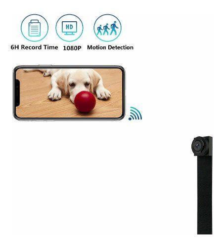 Mini cámara espía wifi hd 1080p home office cámara de seg