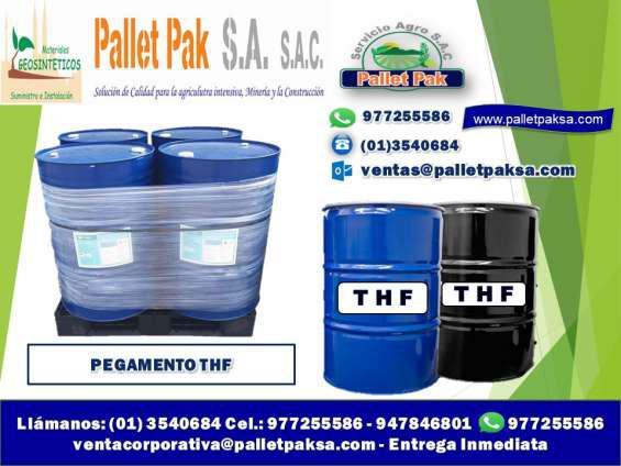 Pegamento thf y extramil para geomembrana pvc en Lima
