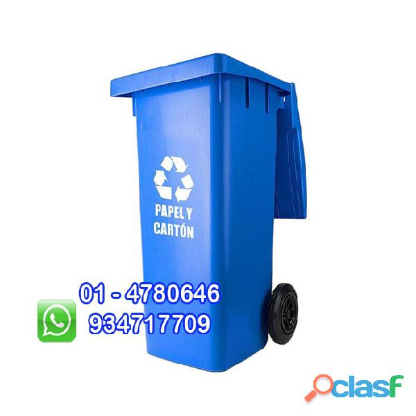 tachos de 120 litros ecologicos con ruedas 1