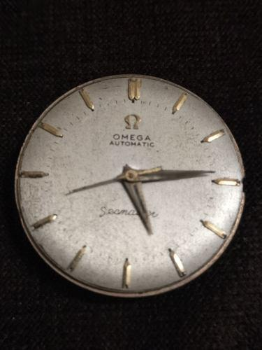 2a Maquina De Antiguo Reloj Omega Seamaster