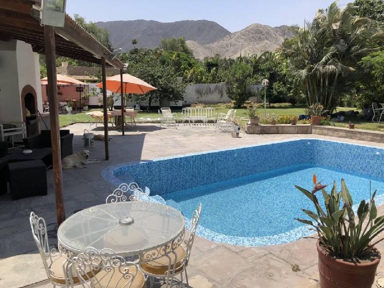 Casa en Cieneguilla - Se Alquila $1,000 Full Day Para