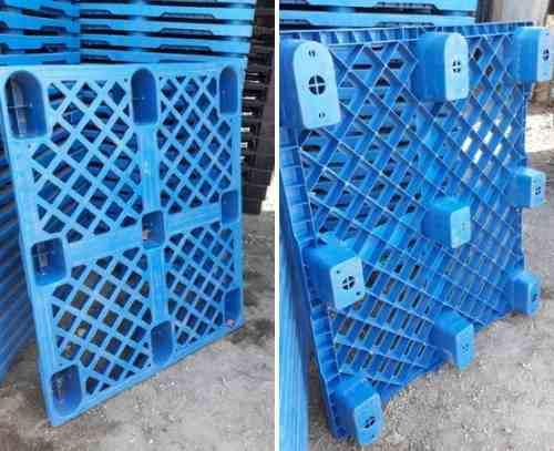 Pallets / Parihuelas Almacén 110 X 110 X 15 Cm Acanaladas