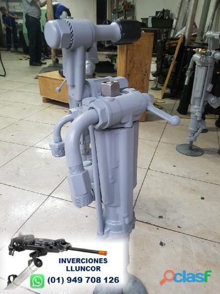 Técnico mecánico de perforadoras neumáticas