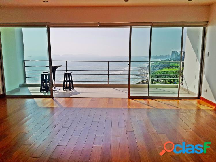 Alquiler de Departamento en Miraflores - Vista al Mar 3 Dormitorios Terraza Moderno 2