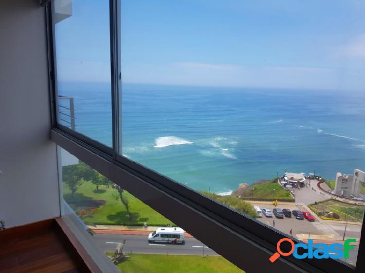 Alquiler de Departamento en Miraflores - Vista al Mar 3 Dormitorios Terraza Moderno 3