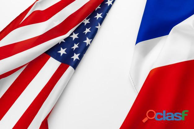 Clases de inglés,francés y portugues.(traducciones)