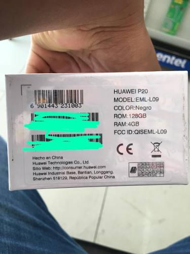 Celular huawei p20 leica 128 gb almacenamiento, 4 gb ram
