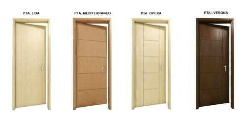 Puerta Contraplacada Triplay - Diseño Ruteado