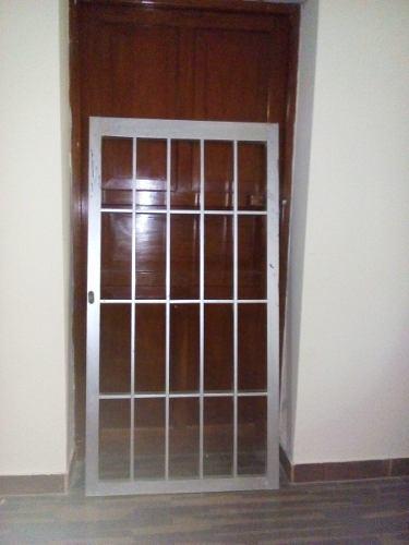 Puerta De Reja De Aluminio