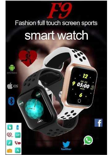 Smartwatch f9 monitor de ritmo cardíaco / impermeable ip67