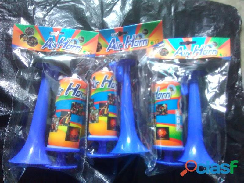 Venta de Cornetas o Chicharras de Aire Tubo de Plastico Bocina 1