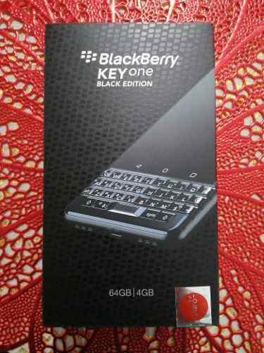 Blackberry key one black edition