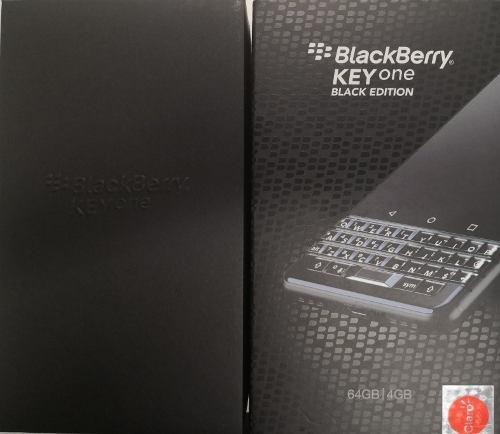 Blackberry key one nuevo color negro