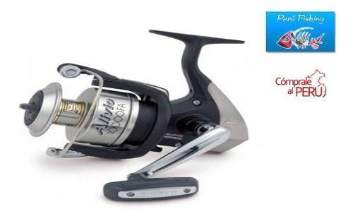 Carrete de pesca marca shimano modelo alivio 10000 fa