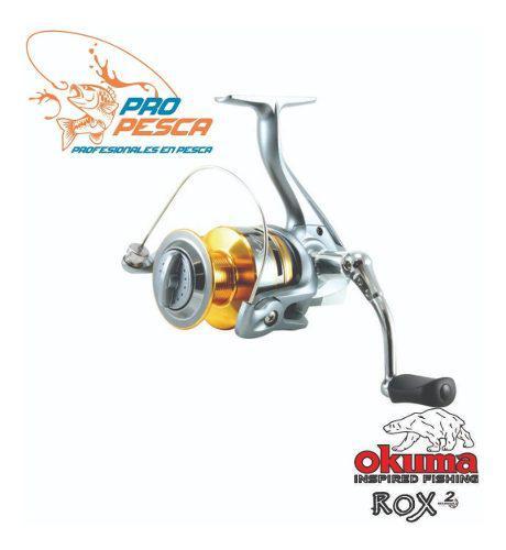 Carrete De Pesca Okuma Modelo Rox 3000