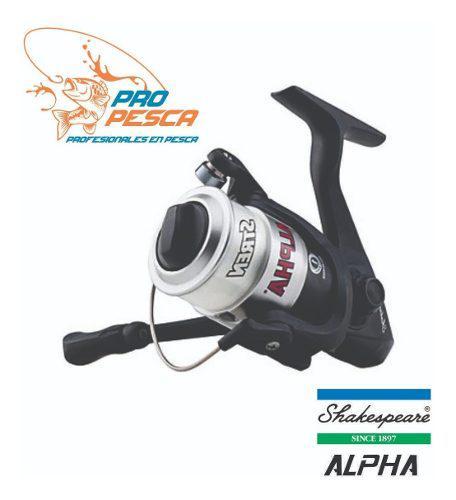 Carrete Pesca Alpha Shakespeare 80x Type 8000