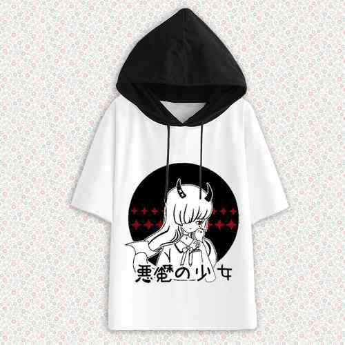 Polo capucha anime