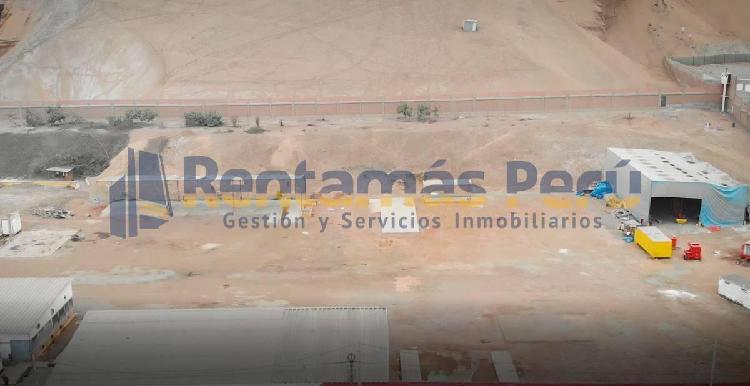 Terreno industrial de 15,000 m² - km 23 panamericana sur