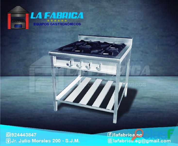 Cocinas modelos variados industriales para restaurantes   la fábrica