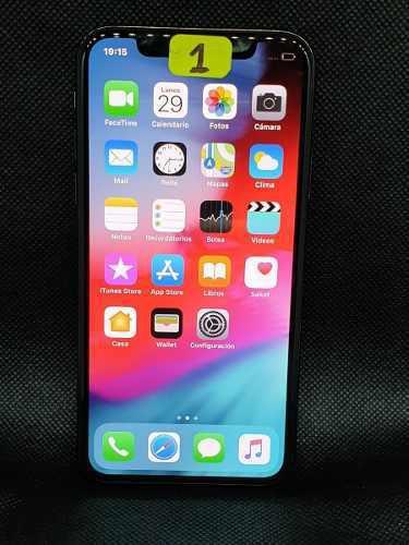 Iphone x 256gb libre con garantia aleashmobiles