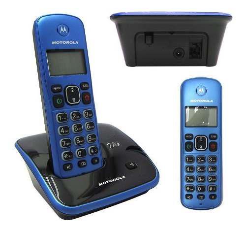 J| teléfono digital inalámbrico motorola auri3520a, 2.4