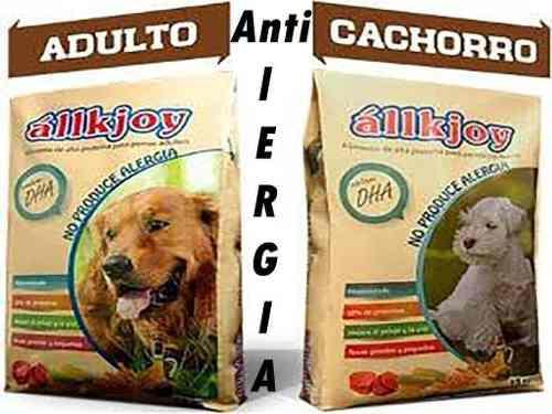 Alimento allkjoy antialergico cordero perro 15kg oferta