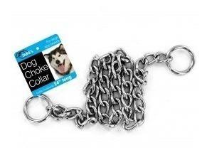 Collar de cadena de metal grade para perros