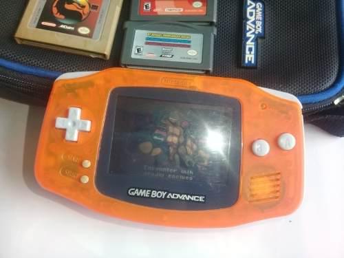 Vendo Game Boy Advance Color Naranja