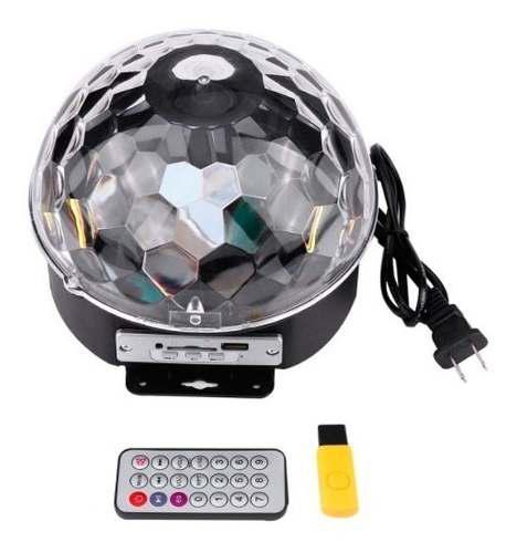 Bola luces sicodelicas led audioritmica parlante bluetooth