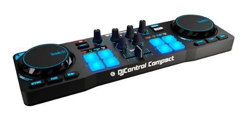 Dj mezcladora hercules dj control compact n0 numark pioneer