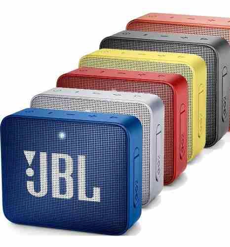 Jbl go 2 parlante bluetooth acuatico sumergible portatil