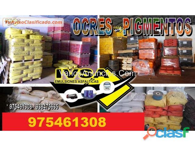 Venta de ocres importados y nacionales a todo el peru informes 975461308
