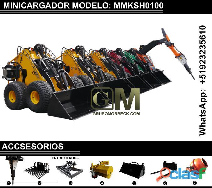 Minicargadores varios modelos