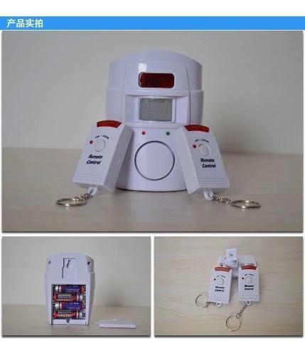 Alarma anti robo inalambrico completo para hogar y oficina