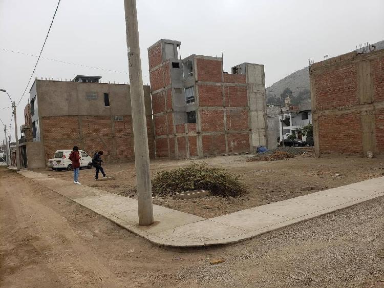 Lindo terreno esquina 143 m condominio el remanso santa