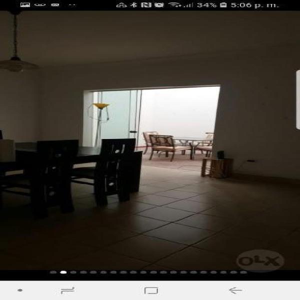 """Bella casa de playa en alquiler con piscina en """" san bartolo"""