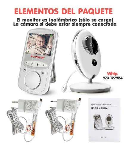 Monitor para bebe audio y video con infrarrojo arequipa 2019