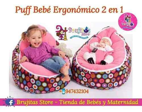 Puff ergonómico bebé antireflujo original