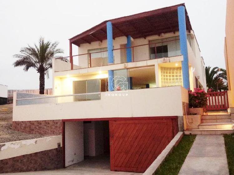 """Venta o alquiler casa playa en condominio """"las palmeras"""""""