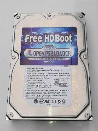 Freehdboot para playstation 2 - disco duro.!!