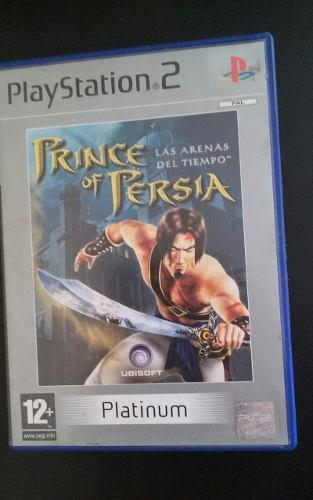 Prince Of Persia Arenas Del Tiempo Pal - Play Station 2 Ps2