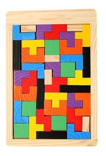 Rompecabezas tetris juegos inteligentes desarrollo niño iq