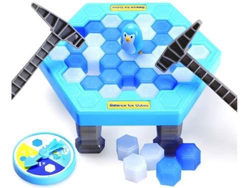 Romper hielo pingüinos puzzle juego de mesa 2 tamaños