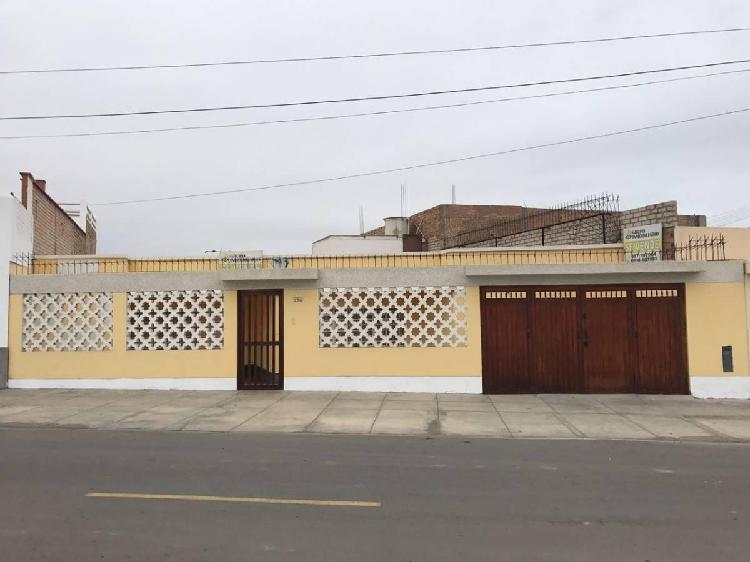 Venta - casa de playa san bartolo (casa - terreno)