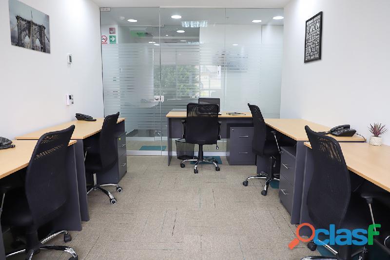 Alquiler de oficinas amobladas y equipadas en la mejor zona de miraflores