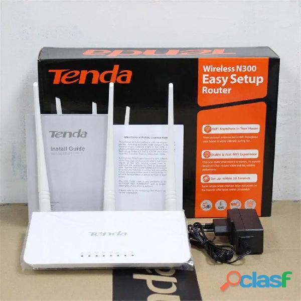 Nuevo Tenda Repetidor Wifi 300Mbs mayor cobertura sin cables 3