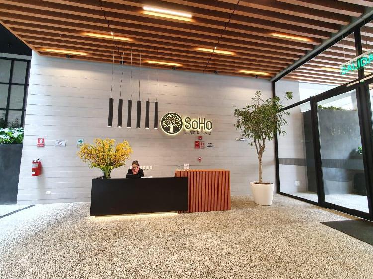 Alquiler de oficina en miraflores de estreno 60 m²