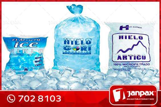 Bolsas biodegradables para hielo en lima
